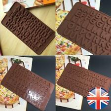 48 Alphabet Letters Dots Hyphen Silicone Mould Chocolate Fondant Jelly Mold