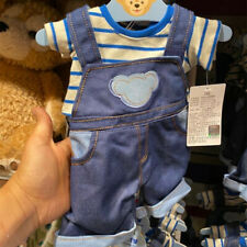 Shdr Duffy Bear plush costume jeans Shanghai Disneyland Disney exclusive