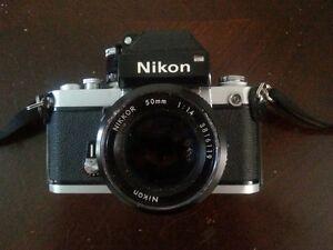 Vintage Nikon F2 Photomic 35mm SLR Film Camera Body  made in Japan
