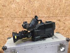 Sony DXC-D50WSP broadcast camera W/ Flight case and VF
