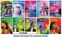 DreamWorks * Many options to choose from: Trolls * Madagascar 3 Movies * E.T.C..