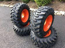 12-16.5 Camso Sks332 Tires/Wheels for Bobcat Skid Steer - New 12 Ply Version