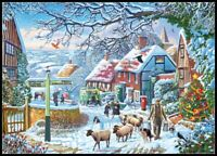 A Winter Stroll - Chart Counted Cross Stitch Pattern Needlework Xstitch craft