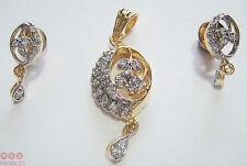 Cubic Zirconia Silver Indian Jewellery