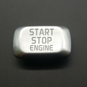 Engine Start Stop Silver Switch Button Cover For Volvo S60 S80 XC60 XC70 V60