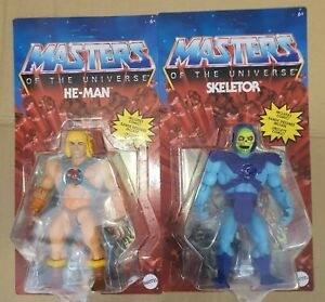 Masters of the Universe Action Figure 2021 Classic He-Man and Skeletor 14 cm