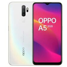 "OPPO A5 2020 DAZZLING WHITE 64GB ROM 3GB RAM DUAL SIM DISPLAY 6.5"" ANDROID"