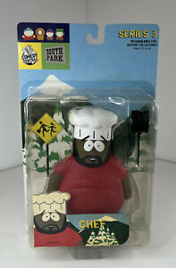Comedy Central South Park Series 3 Chef 2004 Mirage Action Figure