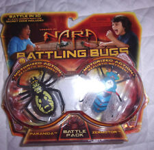 NARA Battling Bugs PARANIDA & ZERMOTOR Battle Pack with Code Toy
