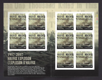 Canada     2017   Booklet   Halifax Explosion 1917 - 2017   Fresh New Issue