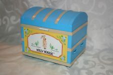 1976 American Greetings Corp. Holly Hobbie Small Hope Chest Radio Very Good Cond