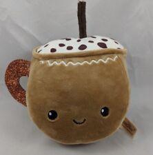 """Dan Dee Cup Plush 5"""" Face Brown Stuffed Animal"""