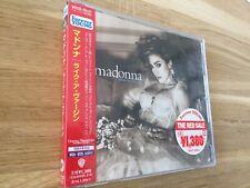 Madonna Like A Virgin Japan WPCR-78121 Sealed Picture on OBI