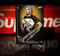 "2017 Topps UFC Museum Collection ""On Card"" Auto Anderson Silva /22 SSP!"