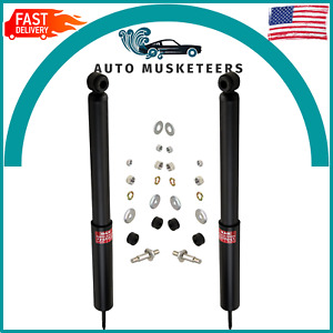 Rear Shock Absorber 2PCS Set Excel-G KYB For Chevrolet Bel Air Lincoln Town Car