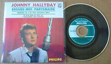 JOHNNY HALLYDAY (CD Single) Excuse moi partenaire - COMME NEUF -  CODE BARRE