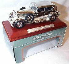Maybach Zeppelin Silver Cars Collection New in box