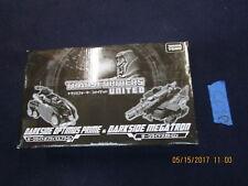 Transformers United Lot DARKSIDE OPTIMUS PRIME & MEGATRON War for Cybertron wfc