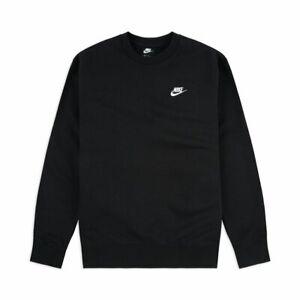 Nike Club Swoosh Crew Neck Fleece Sweatshirt