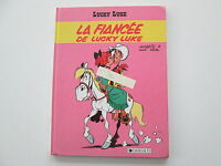 LUCKY LUKE LA FIANCEE DE LUCKY LUKE  BE/TBE  EDITION ORIGINALE