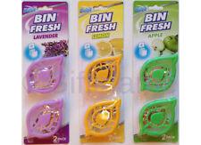 Pack Of 2 Duzzit Bin Fresh, Freshens & Deodorises Bins Swing Pedal - 3 Scents