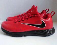 fa216932c806 Nike Vapor Speed Ohio State Buckeyes Turf Shoes Red Black Lunarlon Men s  Size 8
