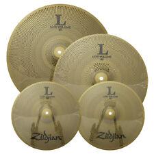 "Zildjian Lv348 L80 Low Volume Cymbals 13"" Hihats 14"" Crash 18"" Crash-Ride - Used"