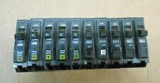 Lot Of 10 Square D Qo Qo130 Circuit Breaker 30A 30 Amp 1P 1 Pole 240V