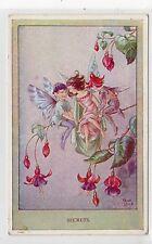 """""""SECRETS"""": Fairy postcard by Rene Cloke (C19559)"""