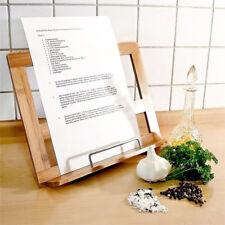 Leggio in legno per libri spartiti orchestra e ricettario cucina regolabile