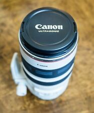 Canon EF 100 - 400mm f/4.5-5.6 L IS USM, Hood, Ring, Pouch