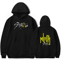 KPOP Stray Kids New Album MIROH Hoodie Coat Pullover Sweatshirt Top 9 Size F3211