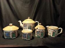 Vintage Cottage Ware Hand Painted Tea Set By Silva