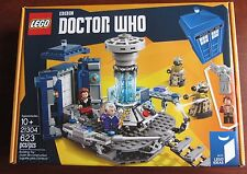 LEGO 21304 11th 12th Doctor Who Daleks Weeping Angel Tardis UK BBC Ideas Time