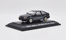 EBBRO 1/43 scale Alloy car model Toyota corolla levin (AE86)  1983 black