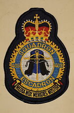 RCAF CAF Canadian 409 Squadron Heraldic Colour Crest Patch