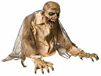 HALLOWEEN ANIMATED GROUND BREAKER ZOMBIE FOGGER FOG EVIL  PROP DECORATION
