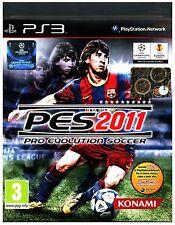 VIDEOGIOCO  PS3  SONY PES 2011  PRO EVOLUTION