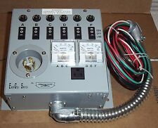 *** EmerGen Transfer Switch for 5KW 2/Circuit Generator NIB w/Plug & Video ***