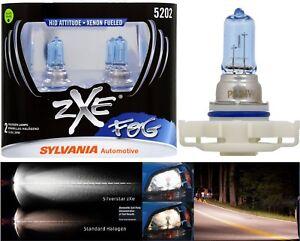 Sylvania Silverstar ZXE PS24W 5202 H16 24W Two Bulbs Fog Light Upgrade Replace