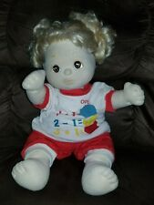 My Child doll blonde hair brown eyes TLC