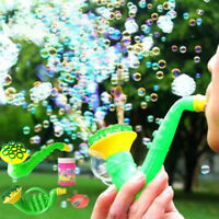 KE_ Funny Saxophone Shape Outdoor Bubble Maker Blower Machine Blowing Toy Kids