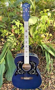 Recording King Century33 Ltd Edition 000 Wabash Blue Roc 9 MBL