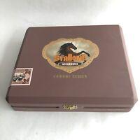 CIGAR Box Stallone Cowboy Serie Alazan Corojo EMPTY Brown Wooden Stash Box Craft