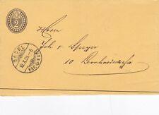 Switzerland 1898 2c PrePaid Newspaper Band Basel Used VGC