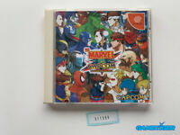 MARVEL VS CAPCOM CLASH OF SUPER HEROES Sega Dreamcast JAPAN Ref:311355
