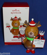 Hallmark Christmas Ornament Reindeer Food 2013 Recipe Card Fill Belly with Food