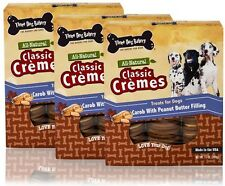 Three Dog Bakery Classic Cremes Peanut Butter 3PACK 39 oz