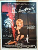 Plakat Kino Le Nächsten Tag Du Crime Jane Fonda Jeff Bridges - 120 X 160 CM