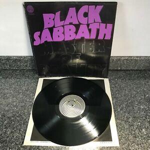 LP VINYL  ALBUM BLACK SABBATH MASTER OF REALITY UK 1ST PRESS 6360 050 SUPER COPY